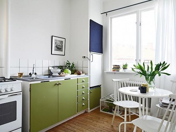 巧手点缀33㎡单身公寓-装修效果图