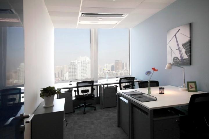 创意办公室装修-装修效果图