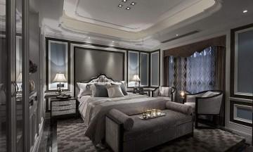 欧式混搭卧室效果图 - 装修案例效果图封面