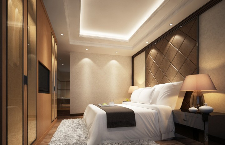 现代简约三室两厅两卫-装修效果图