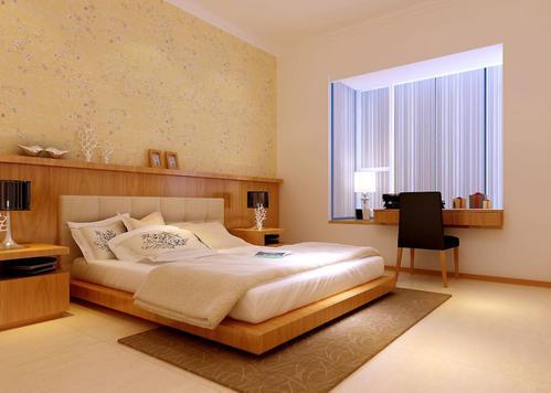 卧室装饰以床为中心
